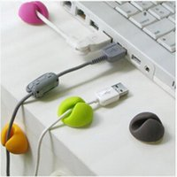 Wholesale Smart Multipurpose Cable Wire Organizer Cabledrop Clip Tidy USB Charger Cord Holder