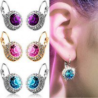 Cheap crystal earrings Best swarovski earrings