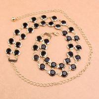 bar titanium alloys - Lady Temperament Ma am Both Bar Type Metal Fashion Women s Belt Decoration Waist Chain Body Statement Bracelets Piercing Jewelry