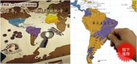 Wholesale Scratch OFF MAP Travel Scratch Map cm World Map