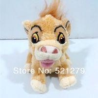 al por mayor león de juguete para empujar-El envío libre 1pcs 8cm = 3inch The Lion King peluches de felpa, colgantes empuje simba lindo