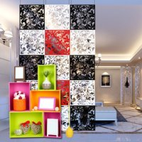 wall dividers - Traditional Chinese Cutout Wall Sticker Hanging Screen Partition Room Divider Home Door Decor