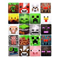Wholesale new arrival Minecraft sets Pad minecraft cups mat Video game cup pads coaster gift boxes D1633