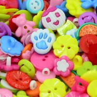 Wholesale 400 baby buttons mixed style mixed color good for baby cloth sewing DIY Craft