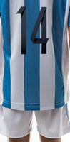 kids football shirts - 2015 kids Youth Infant MESSI MEXICO football camisa shirts kits soccer jerseys