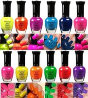kleancolor nail polish - New Kleancolor Nail Polish Neon Collection Set of Lacquer Full Size Art