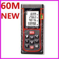 Wholesale RZ E60 m ft Laser distance meter bubble level Rangefinder Range finder Tape measure OEM