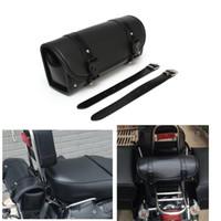 Wholesale Motorcycle Saddlebag Roll Barrel bag Storage Tool Pouch For Harley Davidson order lt no track