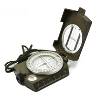 american marine sports - Multifunctional Lens Geological American Compass Marine Outdoor Marching Camping Military Sports Navigator Equipment Luminous