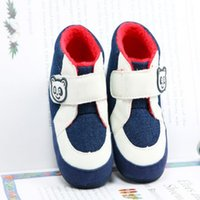 bebe designs - Fashion Design Baby Sports Shoes Girl Boy First Walkers Bebe Canvas Sneakers Cartoon Bear Infant Shoes KS81205