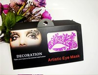 artistic cosmetics - 15paris Face Lace Hollow Eye Shadow Sticker Makeup Artistic Eye Mask Club Party Cosmetics Face Mask Eye Temporary Tattoo