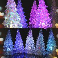 christmas tree led - Christmas Decorations Flashing Christmas Tree LED flash bar party celebration props indoor Christmas pendants ornament night light