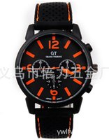 Wholesale 10PCSr GT watch Men Sports watch silicone watches Electronic watches GT Wristwatch Silicone