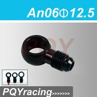 Wholesale J2 RACING STORE Aluminum banjo adaptor Bolt AN6 AN an to mm brake fitting Black PQY SL776