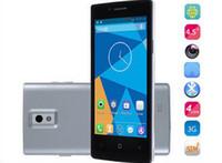 DG450 Smartphone IPS Android 4.2 MTK6582 3G 4.5 pulgadas de Pantalla IPS Internacional DOOGEE Quad core 1GB RAM 4GB ROM de 8.0 MP GPS Miracast Barco Gratuito
