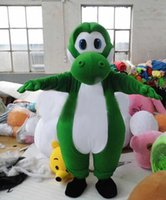Wholesale Super Mario Costume Make - 2016 Adult Mario yoshi mascot costume customization of super cute free shipping