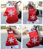 Wholesale 2015 Polyester Cute Christmas Shopping Bag Reusable Eco Friendly Shopping Tote Portable Folding Foldable Bags pouch handbag