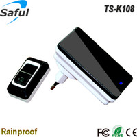 Wholesale Weatherproof and waterproof Wireless digital remote control door bell with kinds of ringtones transmitter with receiver