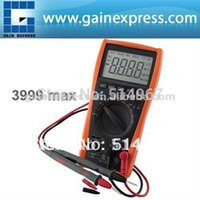 Automatic and Manual auto slope - Auto Manual Digital Multimeter Thermometer Voltmeter Tester Resistance AC DC Ohm Dual slope integrating A D Converter System