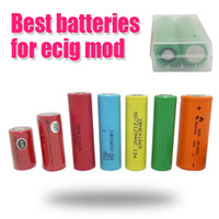 battery promotions - 2015 Promotions Ecig Batteries For Mechanical Mod Vtc r He2 batteries in plastic box Fedex Freeshipping