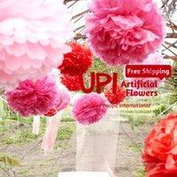 paper pom poms - inch cm Tissue Paper Pom Poms Wedding Party Decorative Paper Flower Ball For Wedding Decoration Colors