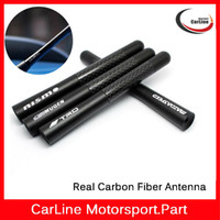 auto radio land - Carbon Fiber Car Aerial Antenna Essential Black Short quot Inch Auto Car Antenna Radio Car Aerial Antenna For All Car Model