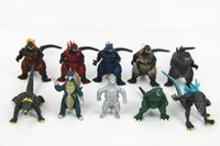 Wholesale Monsters Dinosaur set boys Altman godzilla kids boy toys pvc action figures models new year gifts for children