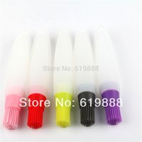 Wholesale Pastry Brush Butter Pen Type Silicone Basting Brushes Cooking Tools