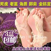 Wholesale Exfoliating Foot Mask foot care mask foot care health care packs HB934