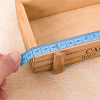 steel tape measure - Hot Seller The Amount Of Clothing Tape Measures Gauging Tools Plastic Stainless Steel Size CM JH50