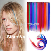 Wholesale Hot sell cm Clip in Color Strip Hair Extensions Clips