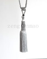 Wholesale High end Simple European handmade tassels hanging ball one pair from the sale