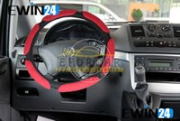 Wholesale Steering Wheel Cover For Car Universal Fit Four Season Suede Fabric Four Colors cm Diameter