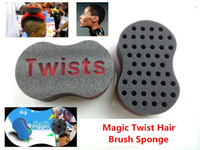Wholesale Magic Twist Hair Brush Sponge for Blacks Hair Styling Beauty Tools Twists Dreads to an Afros