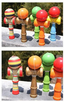 free japanese girl - 150pcs Large Size CM Kendama Ball Japanese Traditional Wood Game Toy Education Gift Colors DHL Fedex