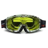 ski goggles glasses - 2015 Hot Night Vision Skiing Goggles Anti fog Anti windstorm Professional Ski Glasses UV Protection Snowboard Snow Goggles Eyewear SK248
