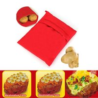 Wholesale Brand New Potato Express Cooker Bag Polyester Fabric For Microwave Bake Cooking Fast With Logo Packing