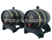 Wholesale Wooden kegs decorative wooden barrels decorative red barrels pine wood barrels cask