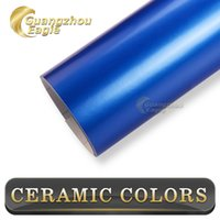 vinyl material - Thickness mil High Quality Blue Glossy Metallic Candy Wrapping Vinyl Stickers With X30M