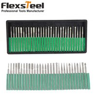 Wholesale 30PCS MM Shanks Precision Engraving Carving Grinding Tool Diamond Burr Drill Bits for Nail Drills Jewelry
