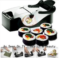 Wholesale Perfect Roll Sushi Maker Magic Roll Easy Sushi Maker Roller Equipment Sushi Tools Sushi Maker Mold