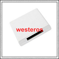Wholesale Best Bluetooth Music Audio Receiver Adapter For iPod iPhone Pin Dock Speaker Doc color optional