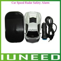 Wholesale 01C373 High Quality Car Speed Radar Degree Protection Detector Laser Detection Voice Safety Alarm GPS quality first