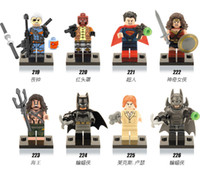 Wholesale Batman v Superman Dawn of Justice Building Blocks Super Heroes Avengers Mini Figures Children kids Toys Bricks X0108