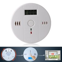 Wholesale CO Carbon Monoxide Poisoning Gas Sensor Warning Alarm Detector Tester LCD