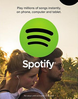 Wholesale 3 Month Spotify Premium Gift Card for US