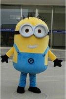 Wholesale 2015 Sell like hot cakes styles Despicable me minion mascot costume for adults despicable me mascot costume mno p