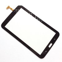 Wholesale for Samsung Galaxy Tab SM T210R SM T217S Glass Digitizer Replacement Adhesive Sticker Black White Yellow Brown