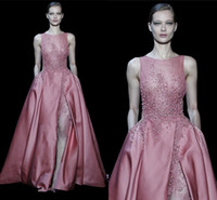 evening wear - New Sexy Beaded Elegant elie saab Prom Dresses Evening Wear Formal Dresses Celebrity Evening Gowns robes soiree Long Evening Dresses