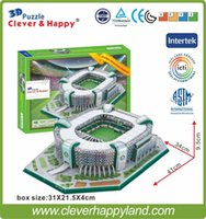 antarctica animals - 2014 New clever happy D Puzzle Model Estadio Parque Antarctica Stadium Palmeiras FC Sao Paulo Brazil